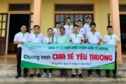Abipha Group trao tặng hàng trăm suất quà cho người dân Quảng Bình