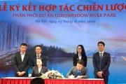 Lễ ký kết hợp tác chiến lược phân phối dự án  Eurowindow River Park