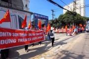 """Vũng Tàu: Khách hàng bức xúc """"đòi nhà"""" tại dự án Sơn Thịnh"""