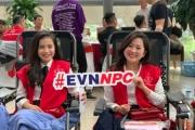 EVNNPC tích cực tuyên truyền, hưởng ứng Tuần lễ hồng EVN lần thứ VI