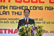 """Bộ trưởng Nguyễn Mạnh Hùng: """"Mục tiêu 100.000 DN công nghệ số năm 2030 có thể đạt được vào năm 2025"""""""