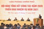 Văn phòng Chính phủ tổ chức hội nghị triển khai nhiệm vụ năm 2021