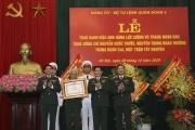 Trung tướng Nguyễn Quốc Thước đón nhận Danh hiệu Anh hùng Lực lượng vũ trang nhân dân