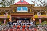 Câu lạc bộ Báo chí Bắc Giang tại Hà Nộitrao tặng 237 suất quà tới các em học sinh trường Phổ thông Dân tộc Nội trú Yên Thế, Bắc Giang