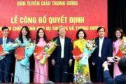 Bà Nguyễn Thị Mỹ Linh và ông Vũ Quý Cường được bổ nhiệm Phó Vụ trưởng Vụ Báo chí - Xuất bản