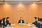 Hà Nội họp bàn về tổ chức họp báo định kỳ năm 2021
