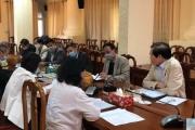 Họp Ban chỉ đạo về công tác phòng chống dịch covid-19 trong tình hình mới