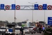 Từ 16/3, giảm tốc độ ô tô lưu thông trên cầu Thanh Trì xuống 60 km/giờ
