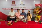 Trường trung cấp Quốc tế Sài Gòn hợp tác với Che'ri Spa đào tạo nghề chăm sóc sắc đẹp