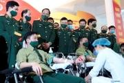 Phát động phong trào hiến máu tình nguyện trong tuổi trẻ quân đội năm 2021