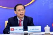 Thứ trưởng Ngoại giao Lê Hoài Trung giữ chức trưởng Ban Đối ngoại Trung ương