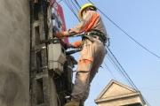 Công ty Điện lực Hà Tĩnh ra quân thay thế công tơ điện tử