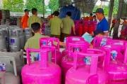 Phát hiện hơn 400 bình khí gas LPG nghi chiết nạp trái phép trong Công ty Vịnh Phát