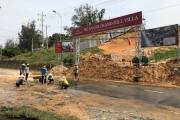 Dự án Goldsand Hill Villa sạt lở, tỉnh Bình Thuận chỉ đạo khẩn