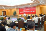 UBND TP. Hà Nội tổ chức Hội nghị Giao ban thường kỳ tháng 4/2021