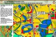 Hà Nội điều chỉnh quy hoạch cục bộ quận Hoàng Mai