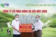 Hơn 50.000 sản phẩm Mộc Châu Milk đến với các tâm dịch COVID-19