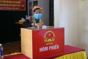 Ngày hội toàn dân, hơn 85 vạn cử tri Hà Tĩnh đi bỏ phiếu