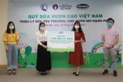 Quỹ sữa vươn cao Việt Nam tiếp tục hành trình trao sữa cho trẻ em tại 26 tỉnh thành trong năm thứ 14