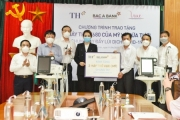 Tập đoàn TH tặng thị xã Hoàng Mai 30.000 sản phẩm đồ uống