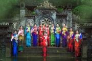 Áo dài Việt tỏa hương cùng Quốc hoa các nước ASEAN