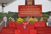 Hà Tĩnh tổ chức trọng thể lễ truy điệu và an táng hài cốt Liệt sĩ Việt Nam hy sinh tại Lào