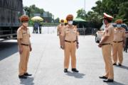 Cục trưởng Cục CSGT kiểm tra công tác phòng, chống dịch Covid - 19 tại các chốt tâm điểm ra, vào Hà Nội