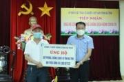 Doanh nhân Trần Văn Toàn trao tặng hơn 800 triệu đồng cho Quỹ phòng chống dịch Covid Hà Tĩnh