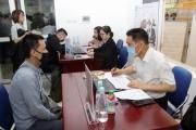 Hà Nội: Người lao động nộp hồ sơ hưởng Bảo hiểm thất nghiệp trực tuyến tại 15 cơ sở