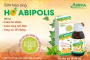 Siro keo ong ho Abipolis – Hỗ trợ giảm ho, giảm tăng tiết đờm