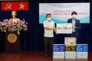 Bac A Bank cùng Tập đoàn TH ủng hộ công tác phòng, chống dịch Covid -19 tại Thành phố Hồ Chí Minh