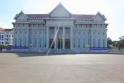 Chuẩn bị nghiệm thu hoàn thành công trình Nhà Quốc hội Lào