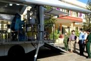 Lần đầu tiên Phú Yên tổ chức tiêm vaccine lưu động bằng ô tô chuyên dụng