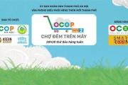 """Mô hình """"chợ đêm trên mây"""" hỗ trợ tiêu thụ sản phẩm OCCOP"""