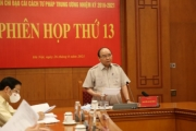 Chủ tịch nước chủ trì Phiên họp thứ 13 Ban Chỉ đạo Cải cách tư pháp Trung ương