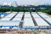Bệnh viện dã chiến lớn nhất Hà Nội sắp đi vào hoạt động
