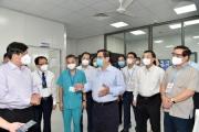 Thủ tướng tham dự lễ khánh thành Bệnh viện dã chiến điều trị bệnh nhân Covid - 19 tại Hà Nội