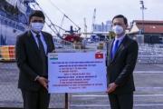 Việt Nam tiếp nhận thiết bị y tế do Chính phủ Ấn Độ tặng