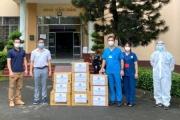SACA tặng hàng ngàn túi thuốc điều trị cho F0