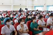 Bắc Ninh cử hơn 200 cán bộ, y, bác sỹ hỗ trợ thành phố Hà Nội phòng, chống dịch Covid - 19