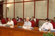 Bộ Chính trị đổi tên Ban Chỉ đạo T.Ư về phòng, chống tham nhũng