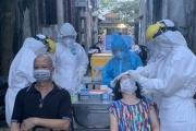 Hà Nội: Lấy mẫu xét nghiệm liên quan đến các ca dương tính ở Việt Hưng