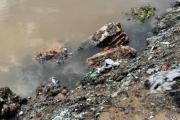 """Ninh Giang, Hải Dương: Khởi tố vụ án """"biến"""" bãi bồi màu mỡ thành nơi chôn lấp rác thải"""