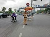 Đội CSGT Số 14 – Công An TP Hà Nội:  Tích cực hưởng ứng tháng cao điểm đảm bảo trật tự an toàn giao thông