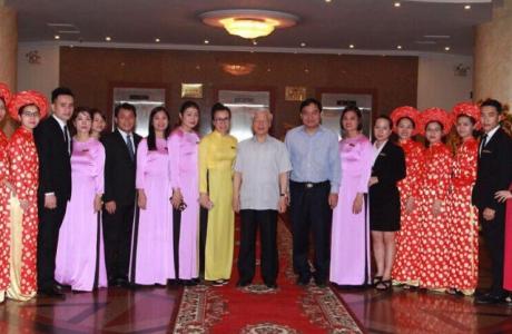 Tổng bí thư Nguyễn Phú Trọng nói về khách sạn của ông Lê Thanh Thản