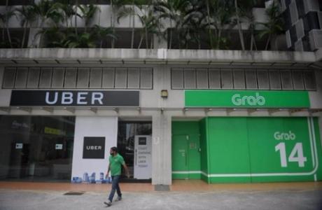 Singapore: Có cơ sở nghi ngờ vụ Grab mua Uber vi phạm luật