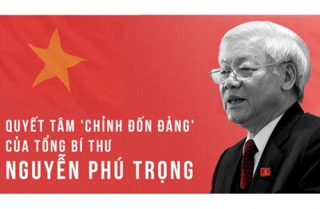 Ra mắt sách của Tổng bí thư Nguyễn Phú Trọng về sự lãnh đạo của Đảng