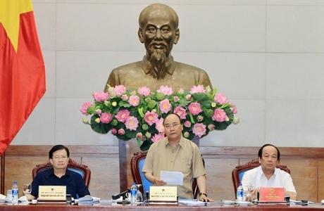 Thủ tướng Nguyễn Xuân Phúc làm việc với các tỉnh đồng bằng sông Cửu Long