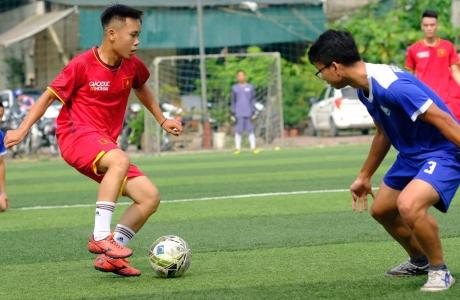 Sao Việt Media và Báo Giáo dục Thời đại giành quyền vào chơi trận chung kết giải bóng đá