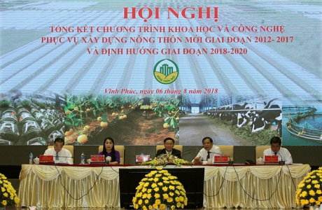 Phó Thủ tướng Vương Đình Huệ chủ trì Hội nghị toàn quốc về nông thôn mới